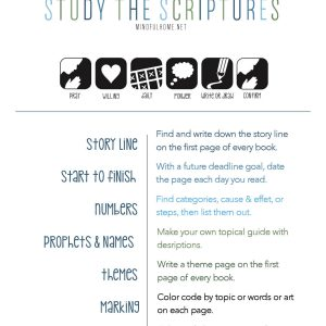7 ways to study scripture